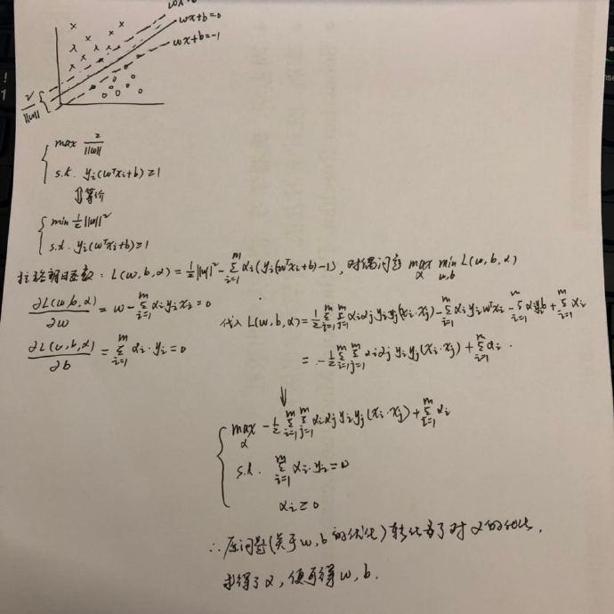 拉格朗日乘子法求解