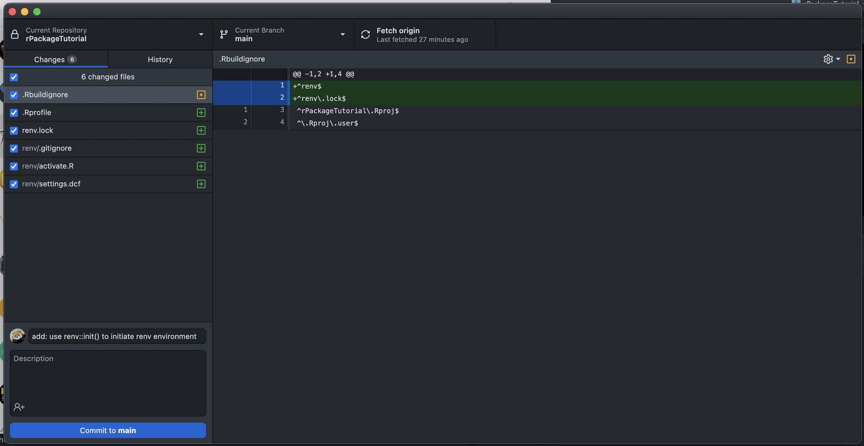 3.3.1 使用 GitHub Desktop 进行 Git 操作对于新手较为友好。