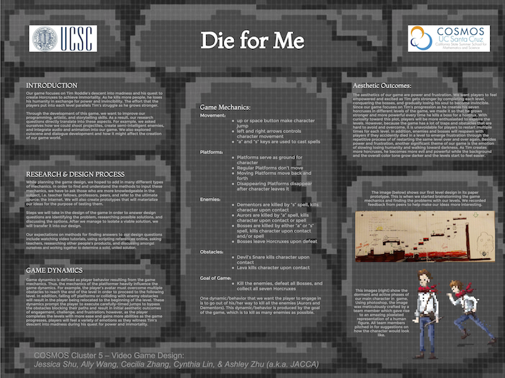 Die For Me release poster