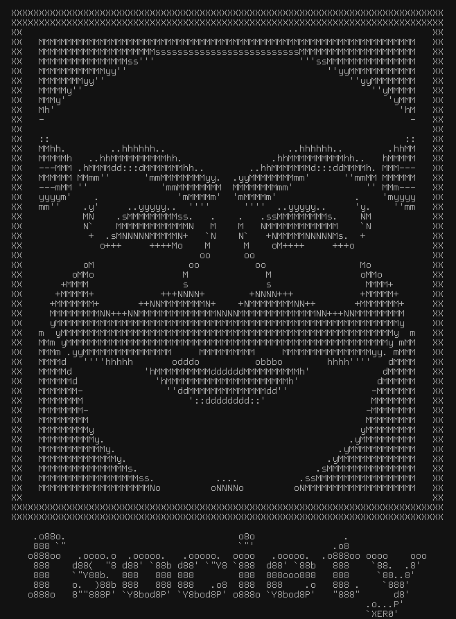 Mr Robot fans -- F society ASCII art - Page 2