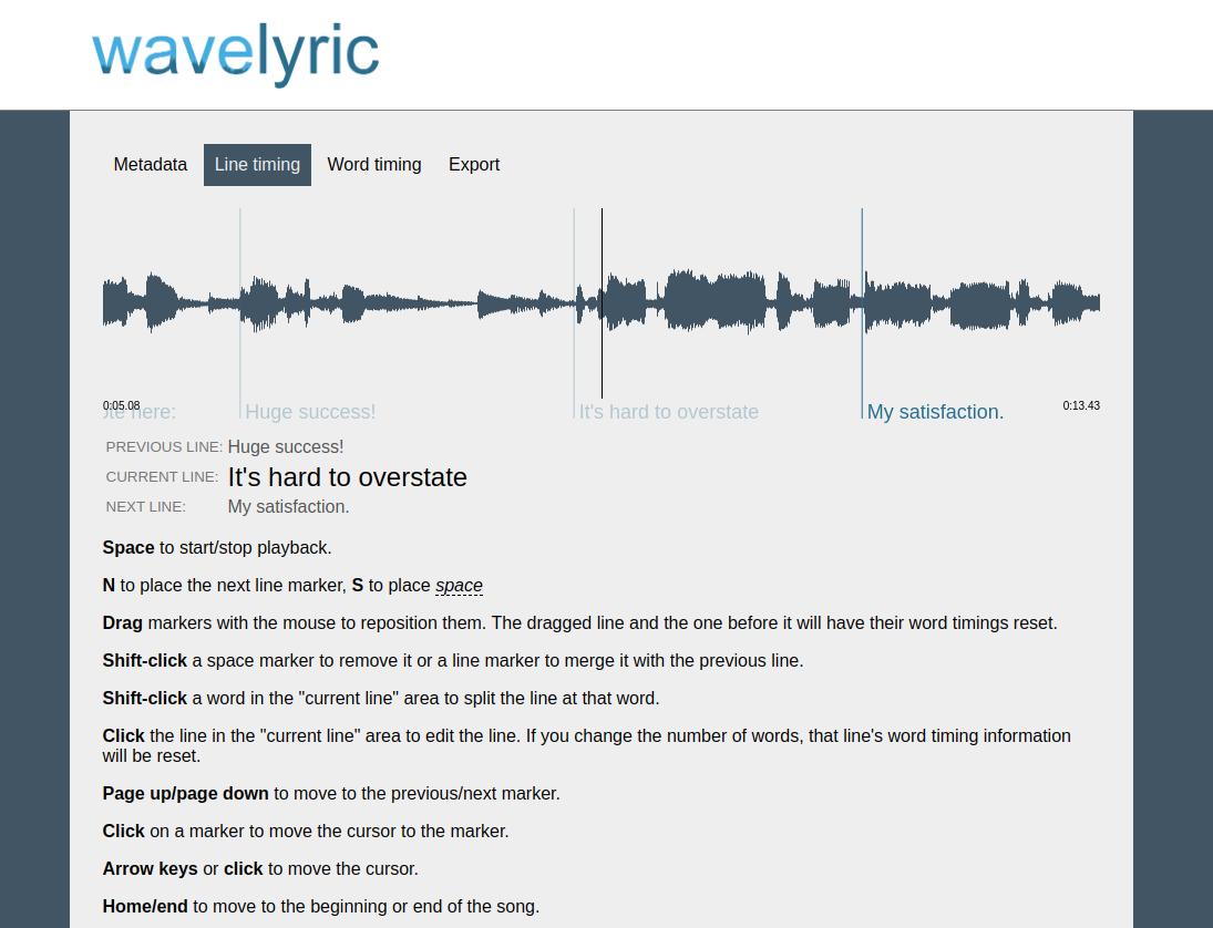 demo image showing main interface