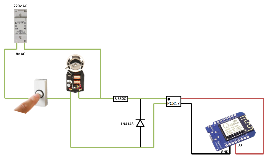 24vac Doorbell Transformer Powering 5vdc Microcontroller What Should I Use Askelectronics