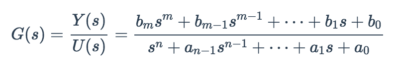 Transfer function notation