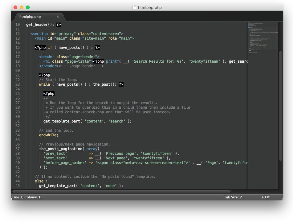 PHP HTML Screenshot