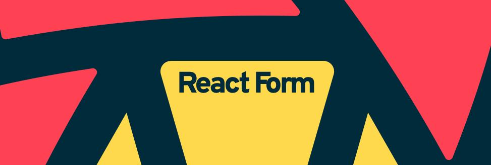 React Form Header