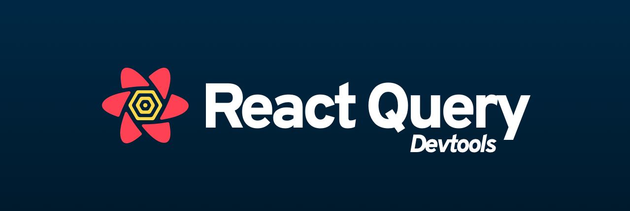 React Query Devtools Header
