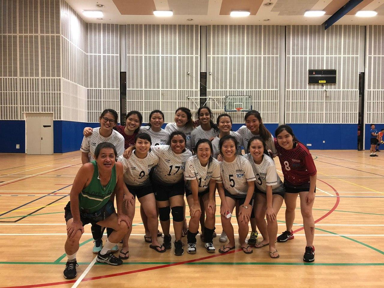 Women's team during SUniG 2019!