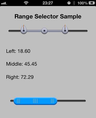 Ramge Selector sample image