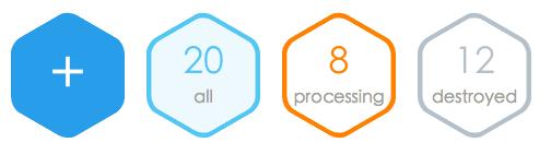 GitHub - tarobjtu/hexagon: css3 hexagon with rounded corners