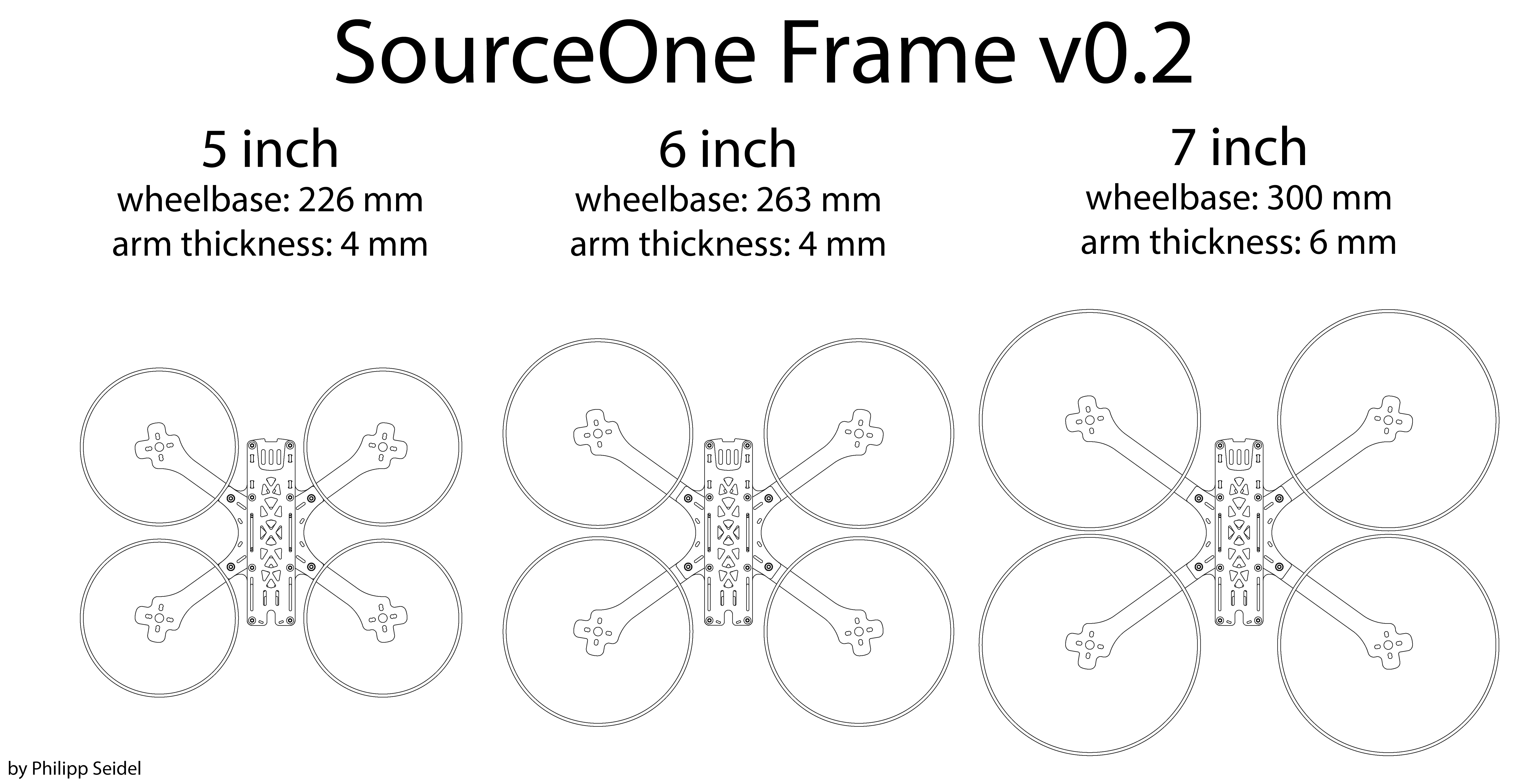 GitHub - tbs-trappy/source_one: Open Source FPV Drone Frame