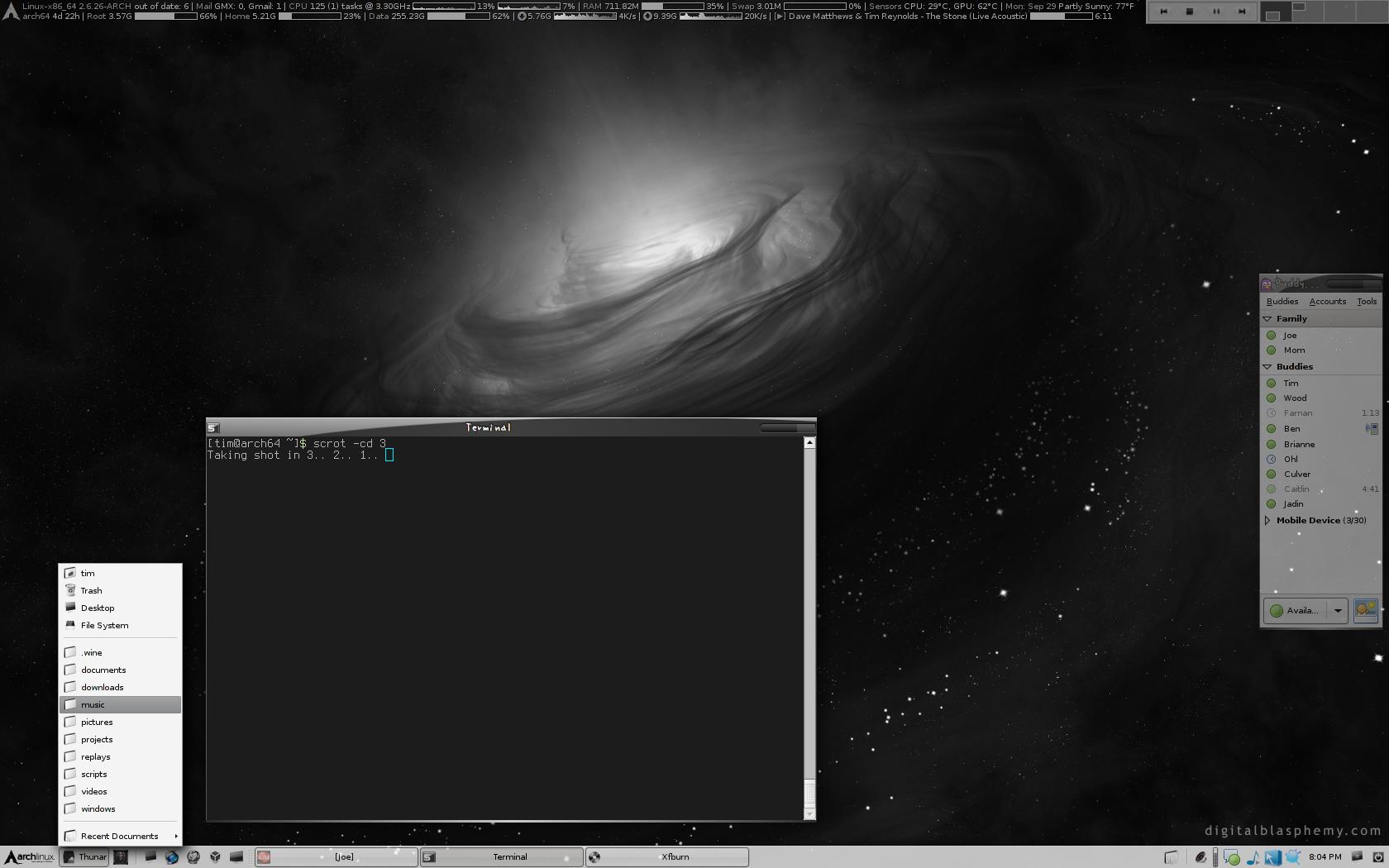 [2008] Xfce 4.6, Athlon 64 X2 PC