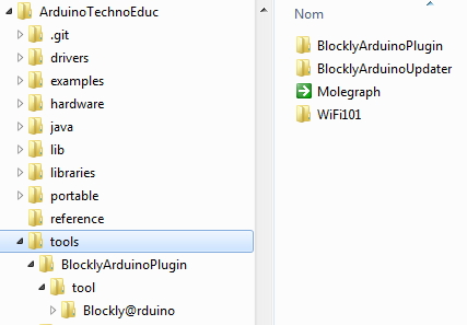 graphical programming offline in IDE : Blockly@rduino