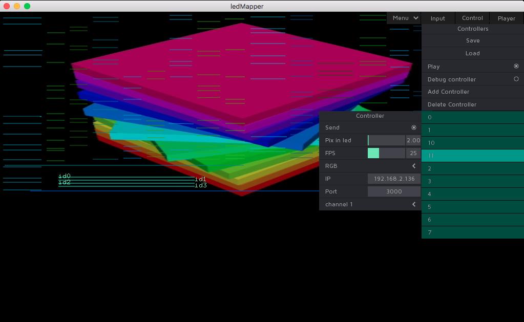 ledMapper screenshot