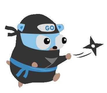 Golpher Ninja by Takuya Ueda