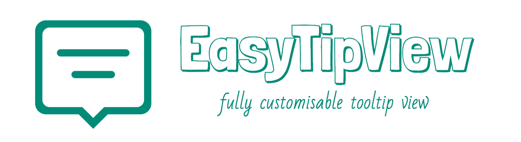 EasyTipView: fully customisable tooltip view written in Swift