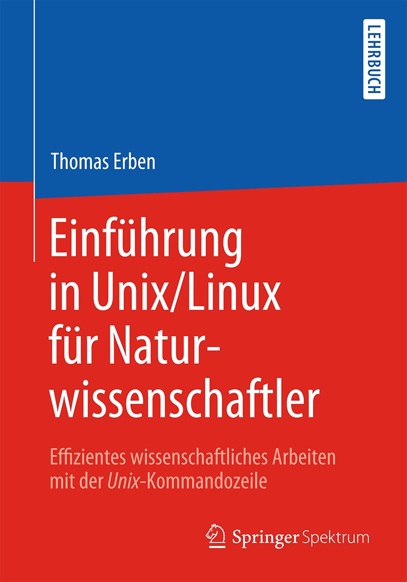 Einführung in Unix - Titelseite
