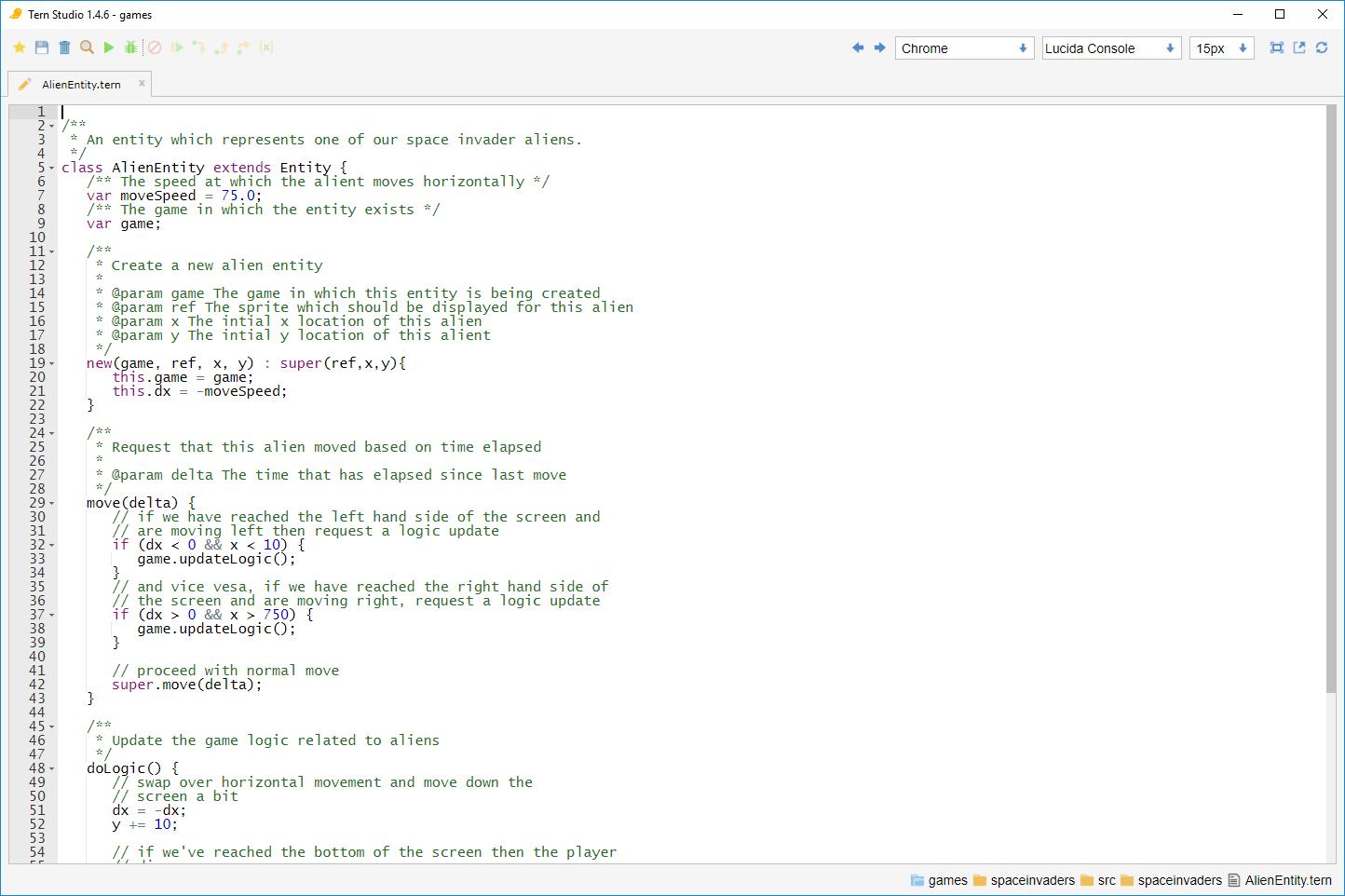 Developer Full Screen