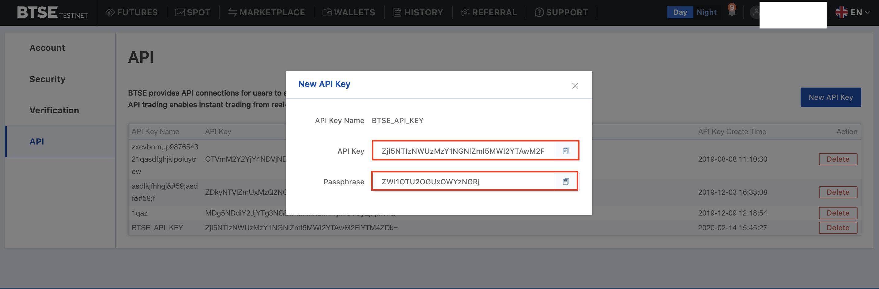 BTSE_API_Key