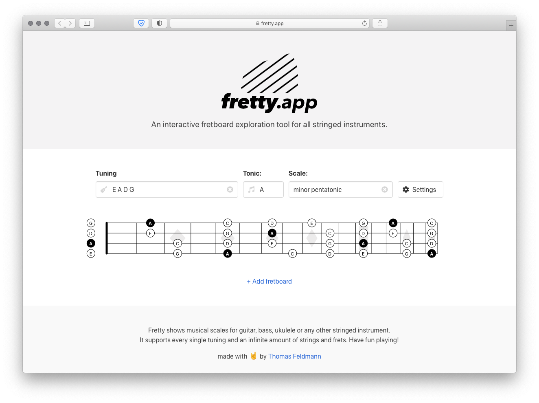 fretty.app screenshot