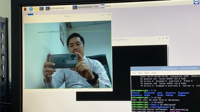 object detection on Pi