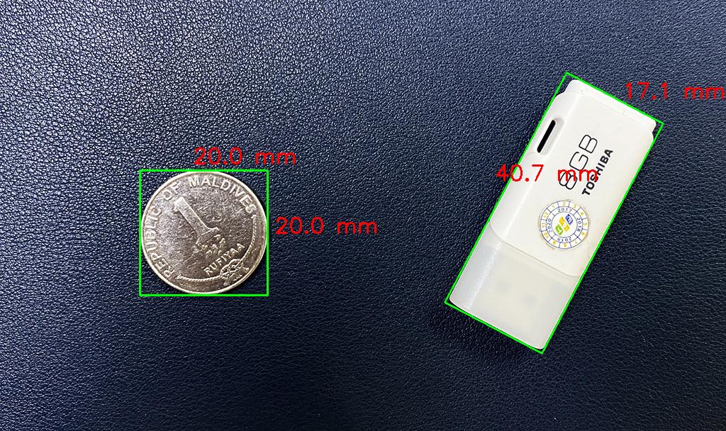 đo kích thước vật thể