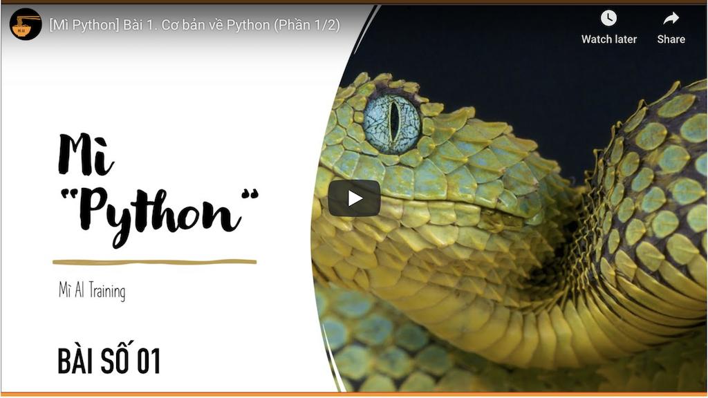 học python