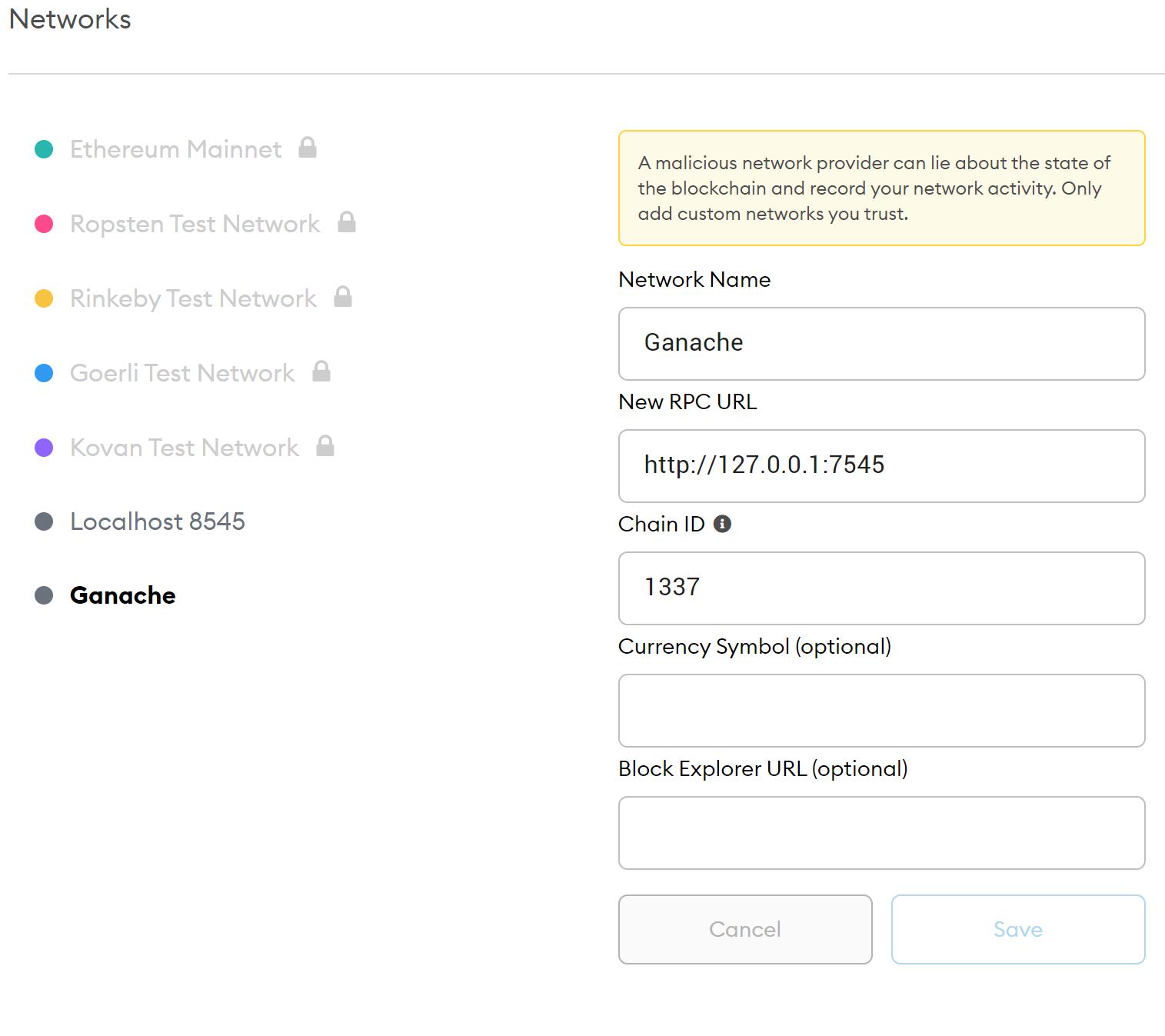 Simple Benchmarking Contract - 简单基准合同
