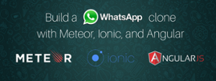 Build a WhatsApp clone with Meteor and Ionic — Meteor Platform version - The Guild Blog