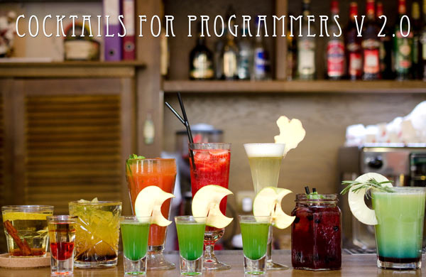 Cocktails for programmers 2.0