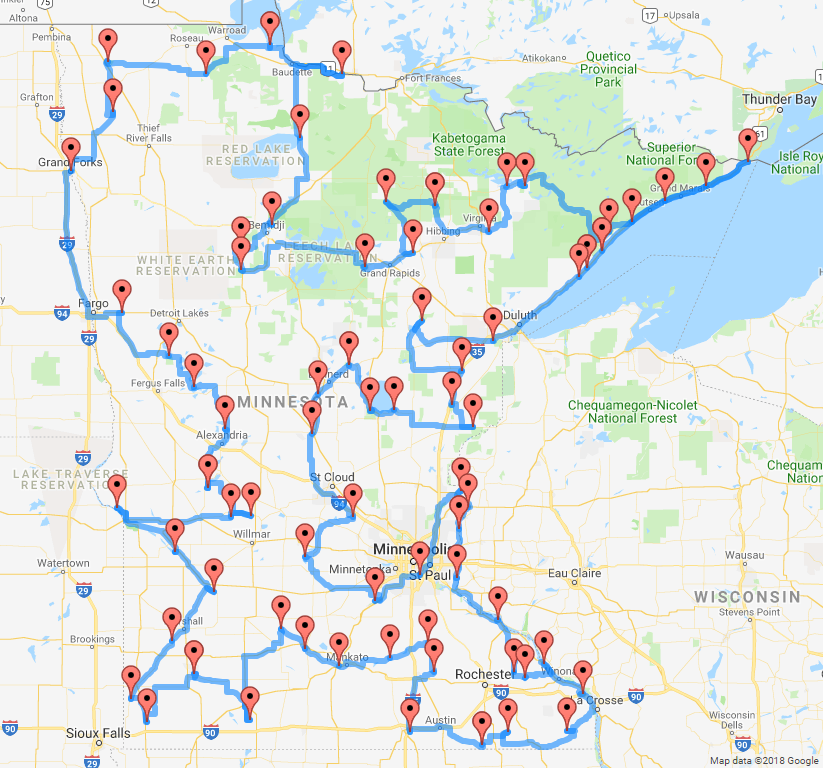 Adulting: MN State Parks Tour on