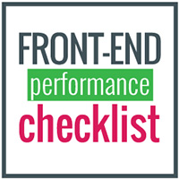 Front-End Performance Checklist