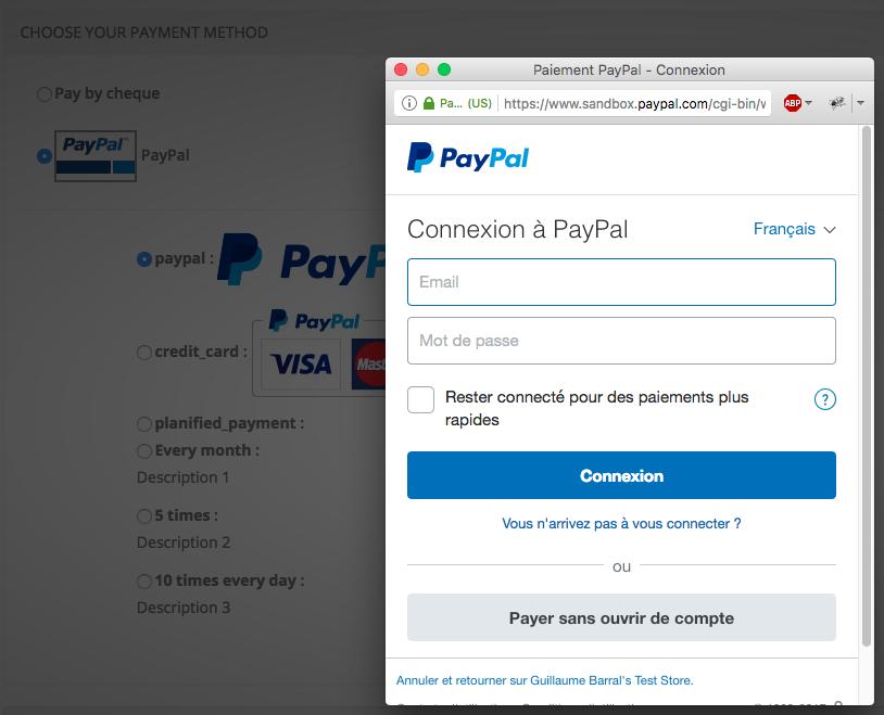 alt classic paypal payment