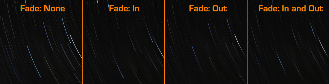 effect of the fade options