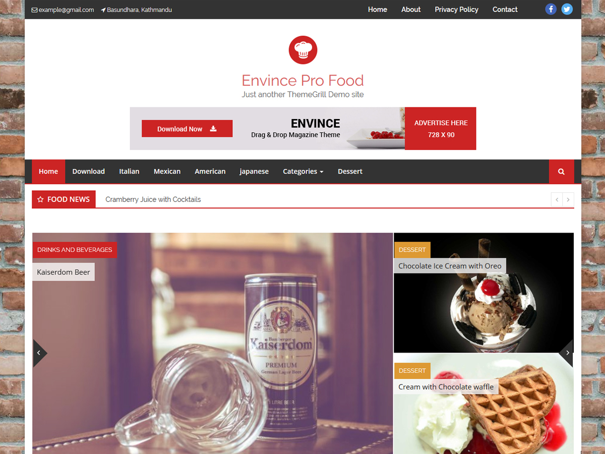 envince-pro-food