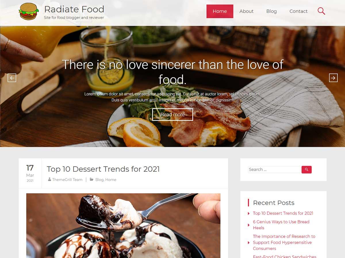 radiate-pro-food
