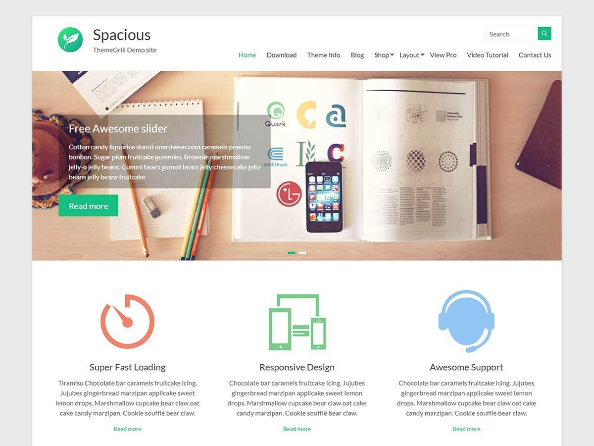 spacious-free