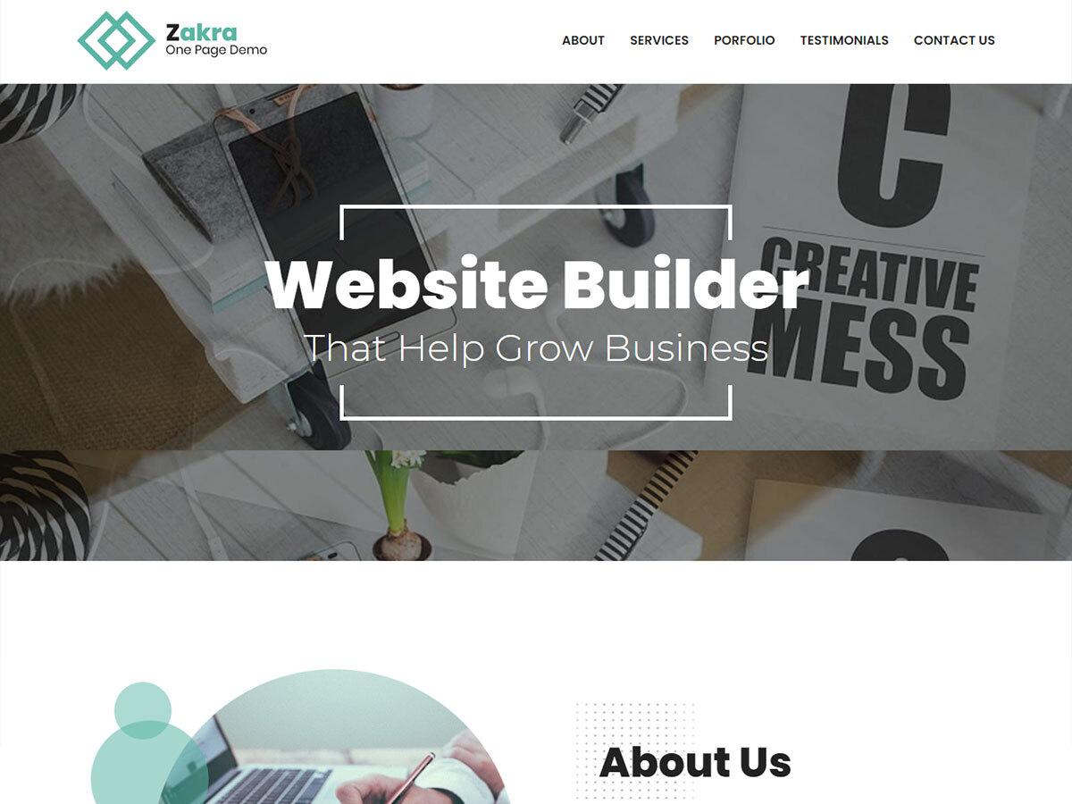zakra-one-page