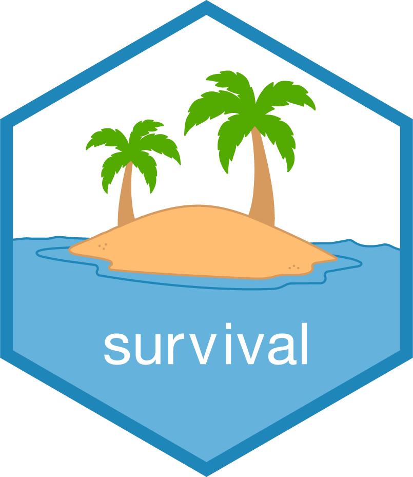 Survival package for R