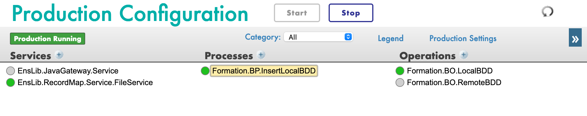 JDBCProduction