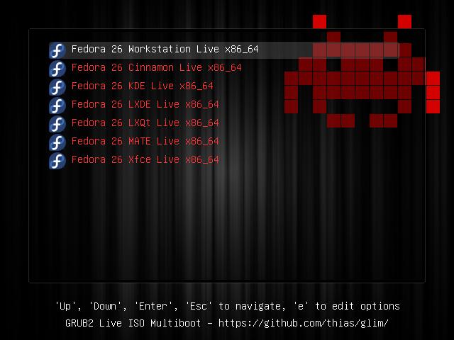 Ubuntu Submenu