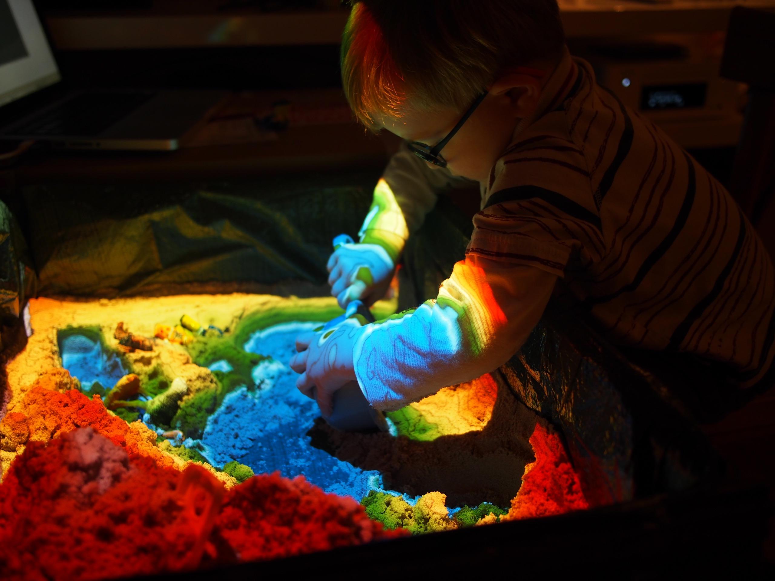 First View of a Magic Sandbox