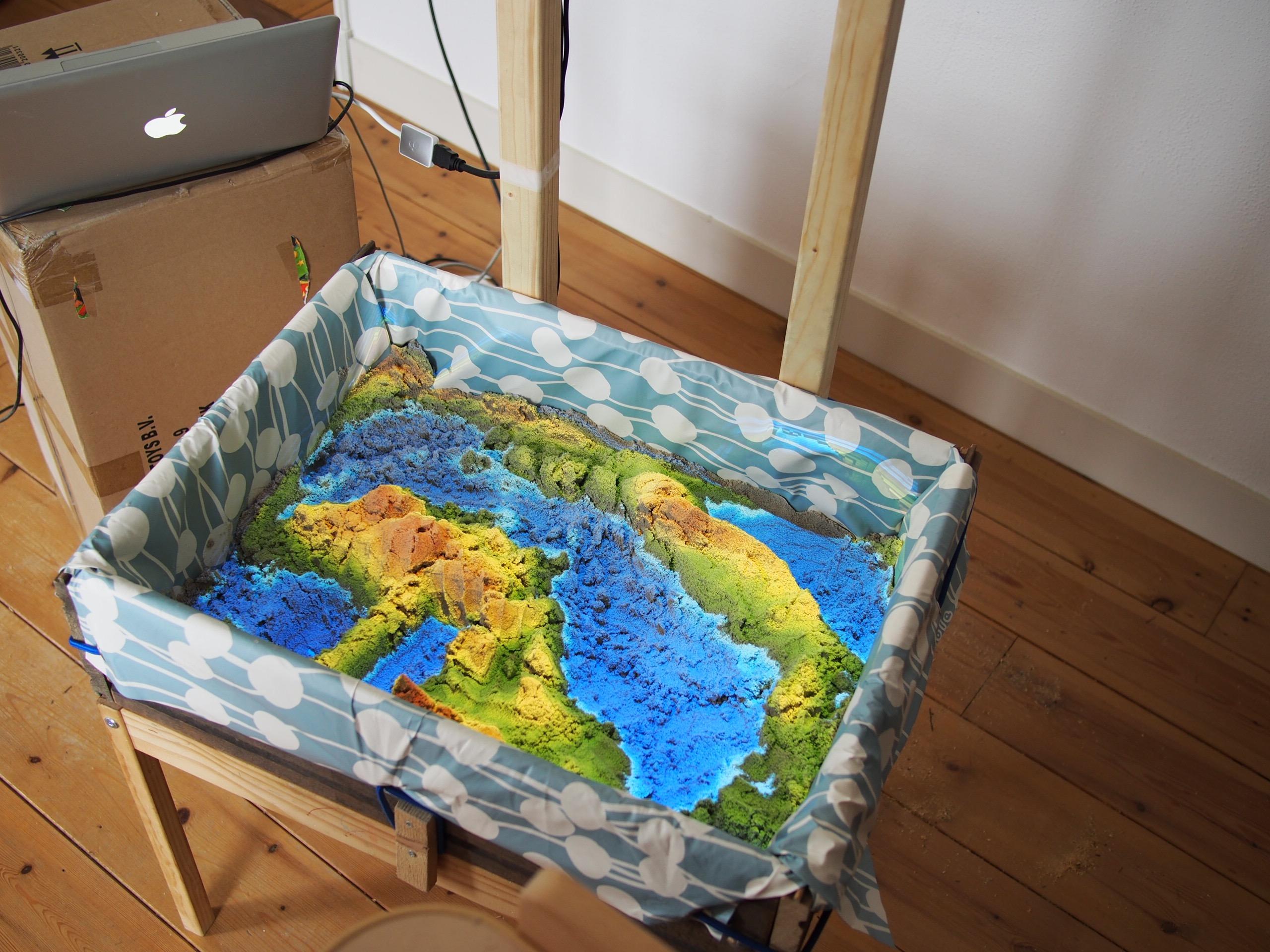 View of a Magic Sandbox