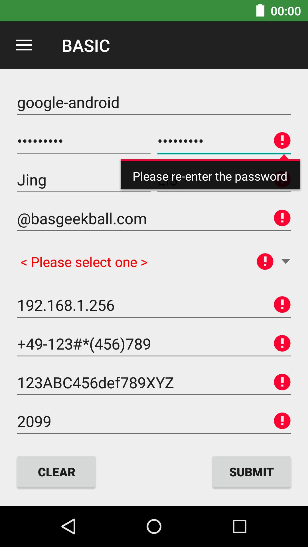 The Android Arsenal - Validation - AwesomeValidation