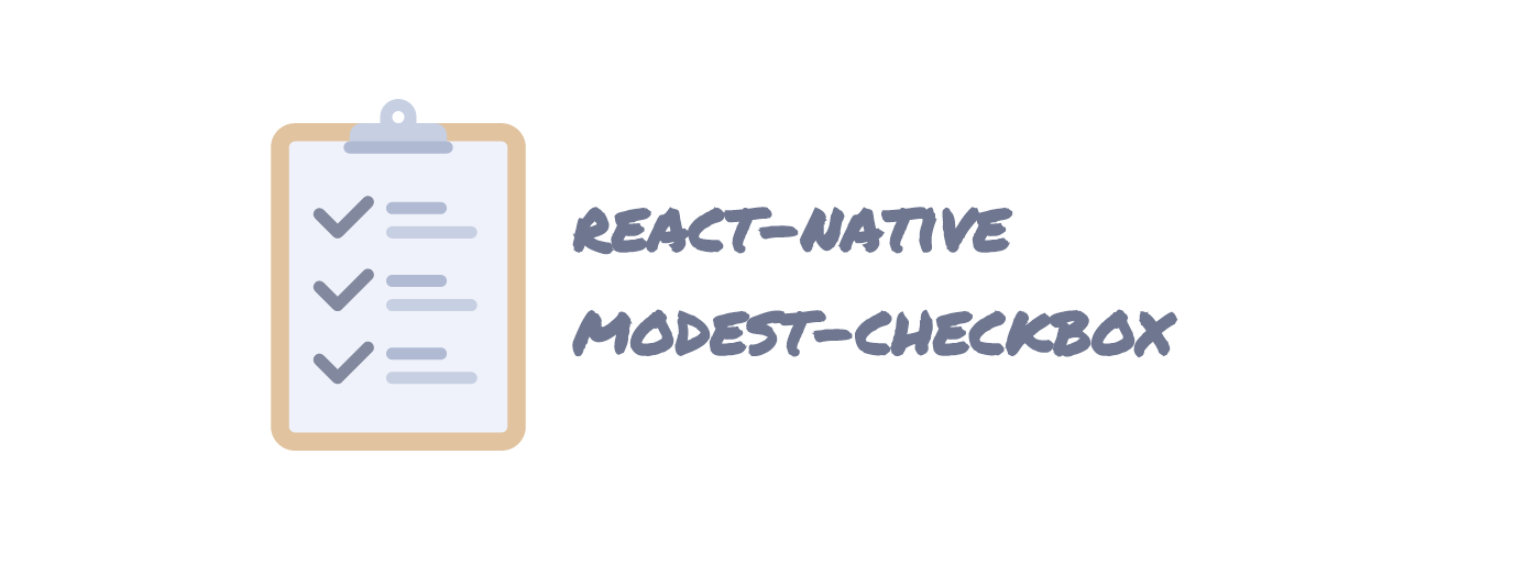 react-native-modest-checkbox - npm