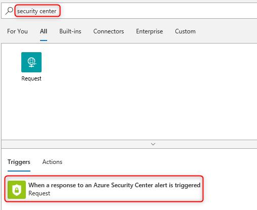 Azure-Security-Center/Labs/06 - Logic App integration at