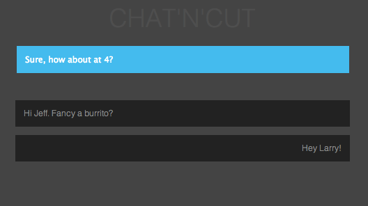 simple chat with nodejs, angularjs and server-sent events