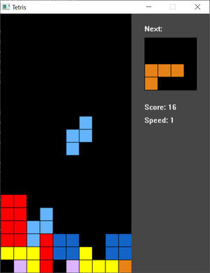 Dart Tetris for Win32 screenshot