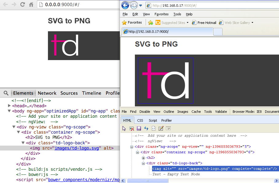 SVG to PNG fallback in AngularJS preview in the browser