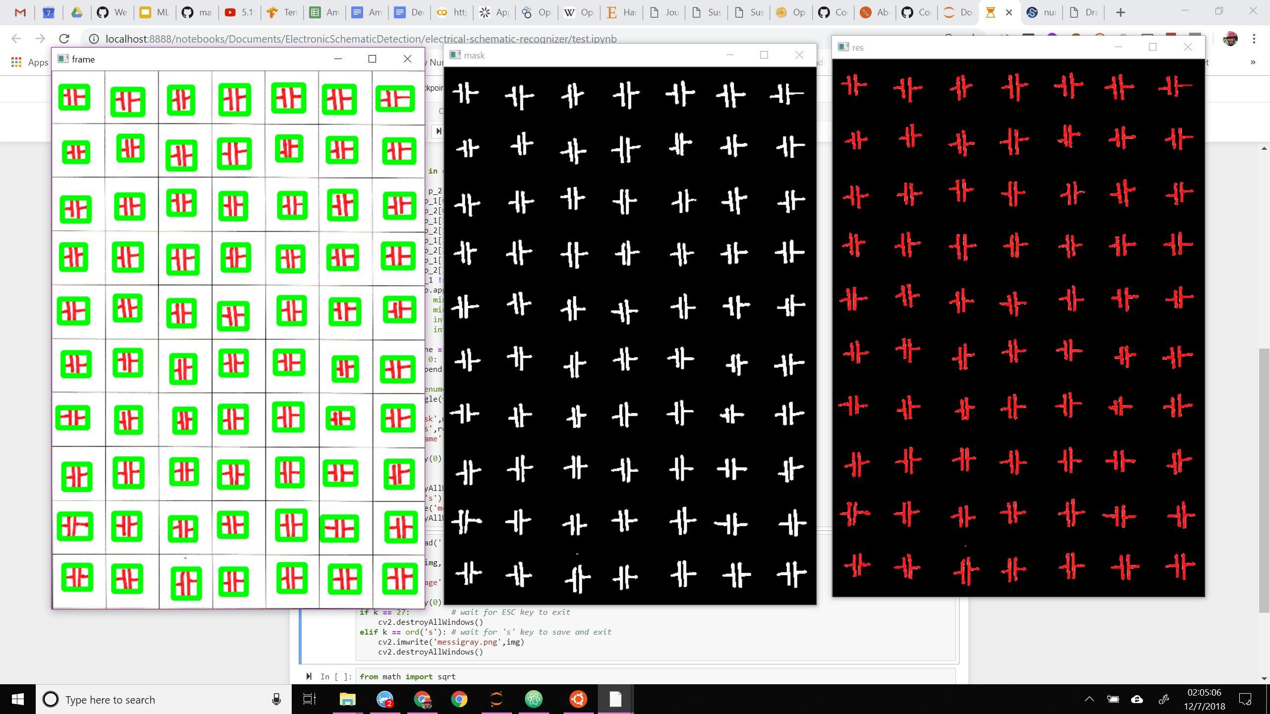 Segmenting individual Circuit elements