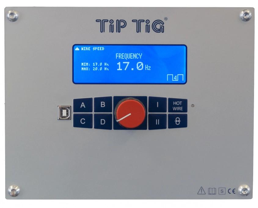 TIP TIG Control Panel